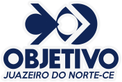 Logotipo do Colégio Objetivo Juazeiro do Norte